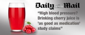 Tart CHerry Juice Bloodpressure