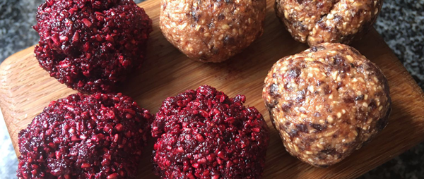 Cherry Beetroot Energy Balls