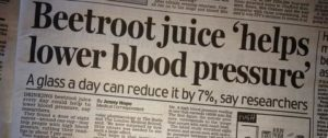 Beetroot Blood Pressure