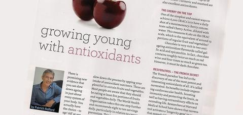 Growing old with antioxidants
