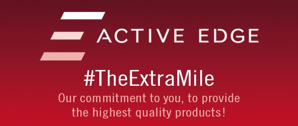 Active Edge the extra mile